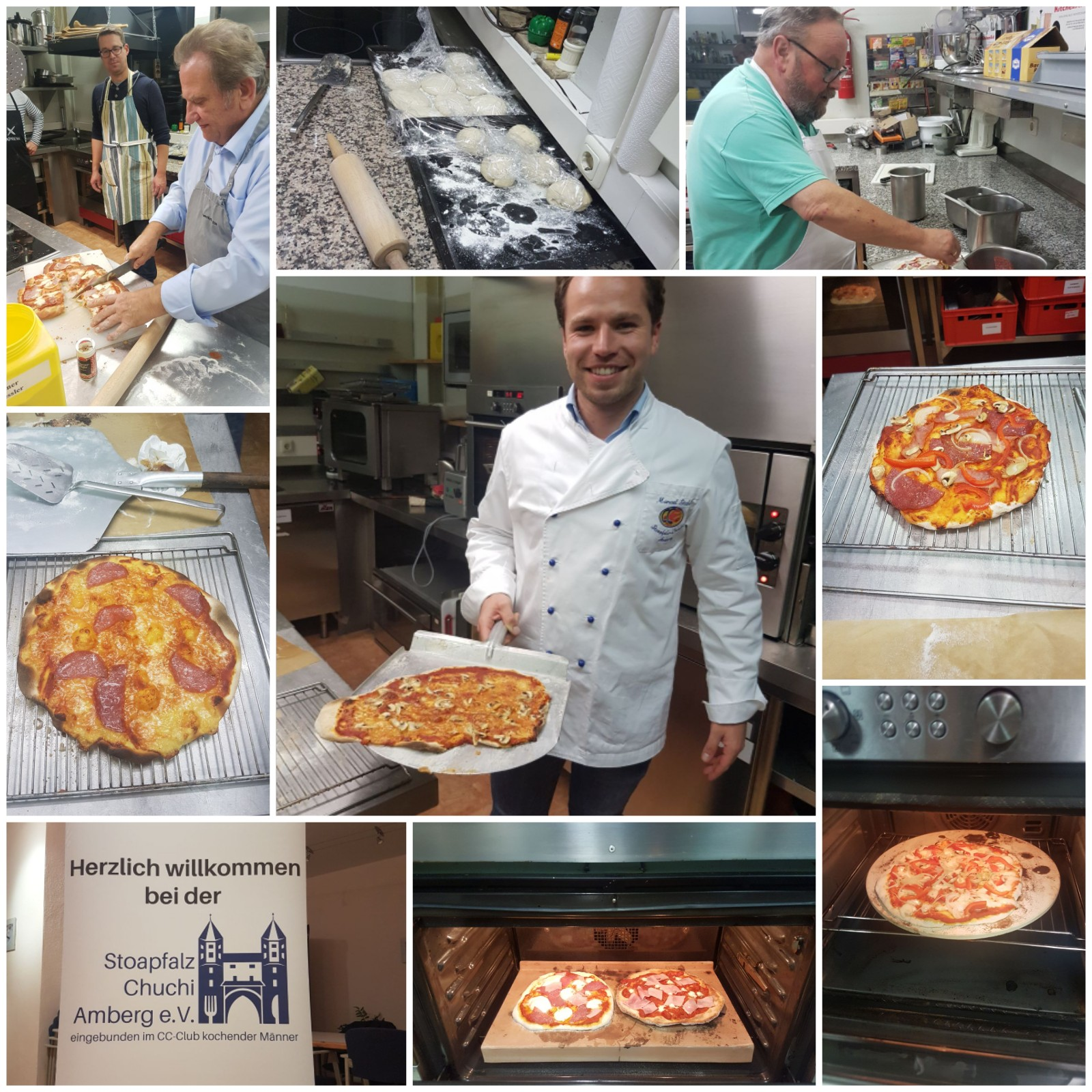 Pizzaworkshop im Oktober 2017