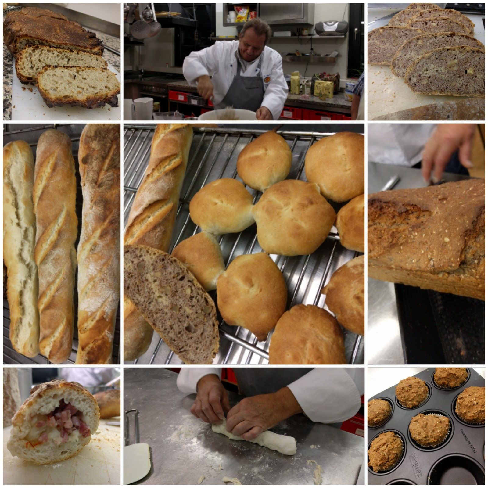 Workshop Brotbacken im November 2017